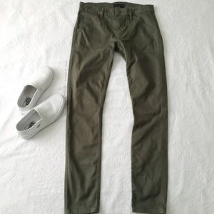 Sanctuary Green Slim Cut MidRise Jeans